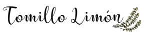 Tomillo limon blog